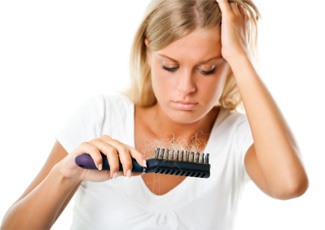 female hair loss due to chemotherapy